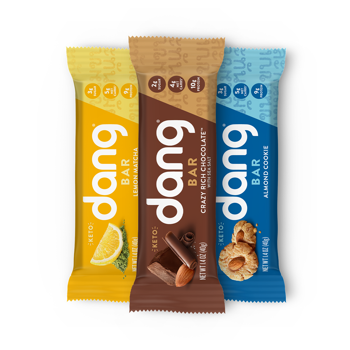 3-Flavor Dang Bar Pack of 12
