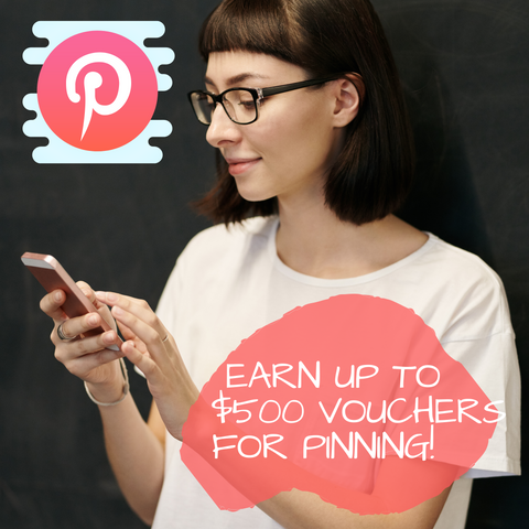 Pinterest exclusive offer