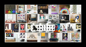Gallery Wallrus - Eclectic wall art, gallery walls and wall decor with free worldwide shipping