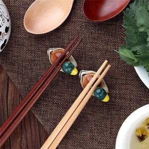Ceramic Duck Chopstick Holder from Gallery Wallrus | Eclectic Wall Art & Decor with Worldwide Shipping