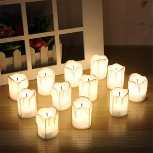 12pcs LED Tealight Candles from Gallery Wallrus | Eclectic Wall Art & Decor with Worldwide Shipping