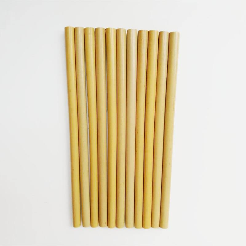 Bamboo Eco Straw Set from Gallery Wallrus | Eclectic Wall Art & Decor with Worldwide Shipping