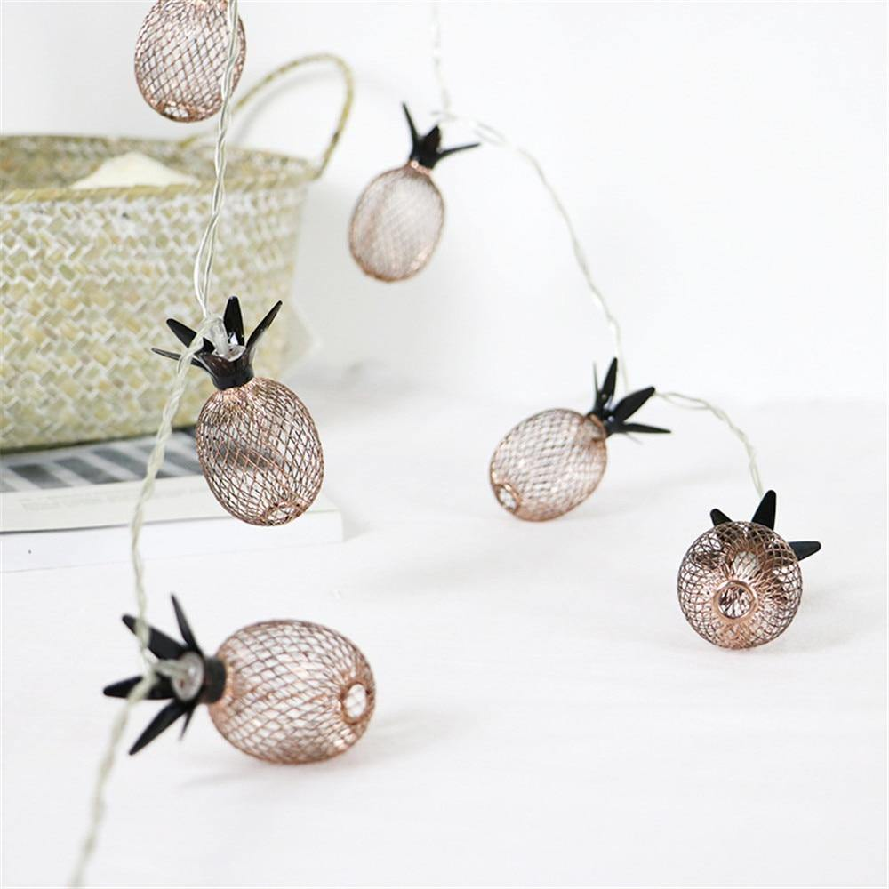 Pineapple Fairy Lights from Gallery Wallrus | Eclectic Wall Art & Decor with Worldwide Shipping