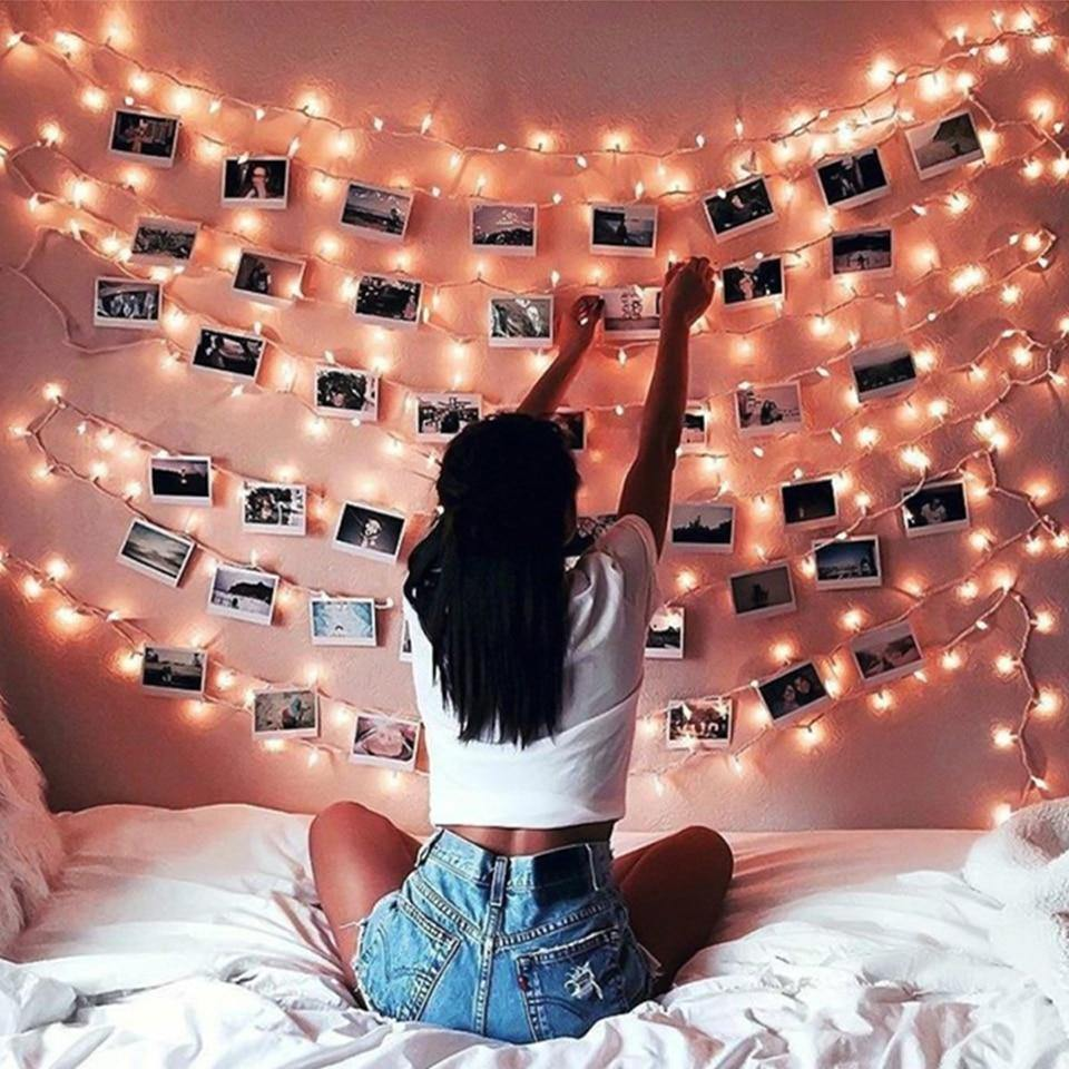Photo Clips String Fairy Lights from Gallery Wallrus | Eclectic Wall Art & Decor with Worldwide Shipping