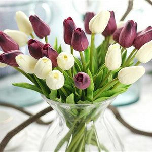 Tulips Calla Artificial Flower Collection from Gallery Wallrus | Eclectic Wall Art & Decor with Worldwide Shipping