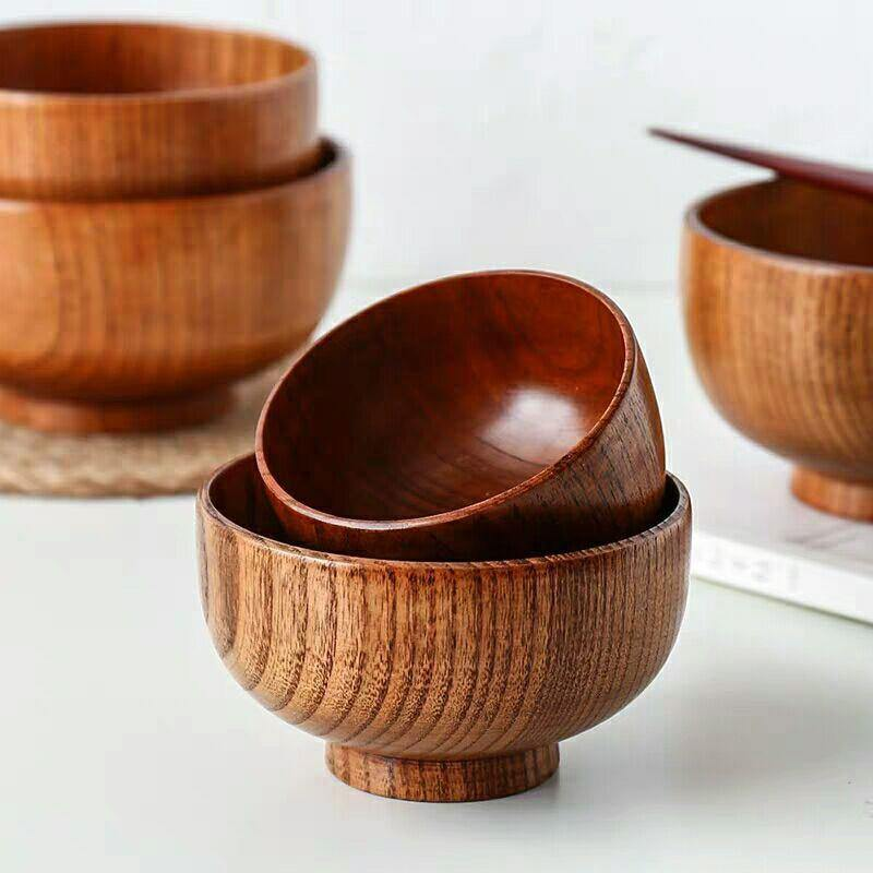 Japanese Wooden Bowl Tableware from Gallery Wallrus | Eclectic Wall Art & Decor with Worldwide Shipping