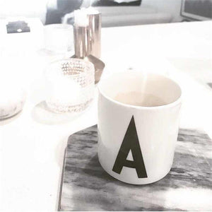 A -Z Letter Cups from Gallery Wallrus | Eclectic Wall Art & Decor with Worldwide Shipping
