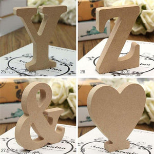 Wooden Craft Letters from Gallery Wallrus | Eclectic Wall Art & Decor with Worldwide Shipping