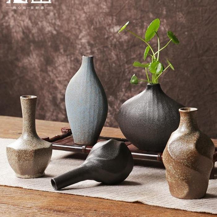 Sculpted Japanese Ceramic Vases from Gallery Wallrus | Eclectic Wall Art & Decor with Worldwide Shipping