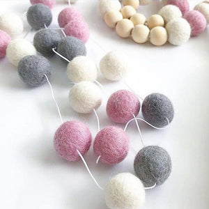 Wool Ball Wall Decoration Collection from Gallery Wallrus | Eclectic Wall Art & Decor with Worldwide Shipping