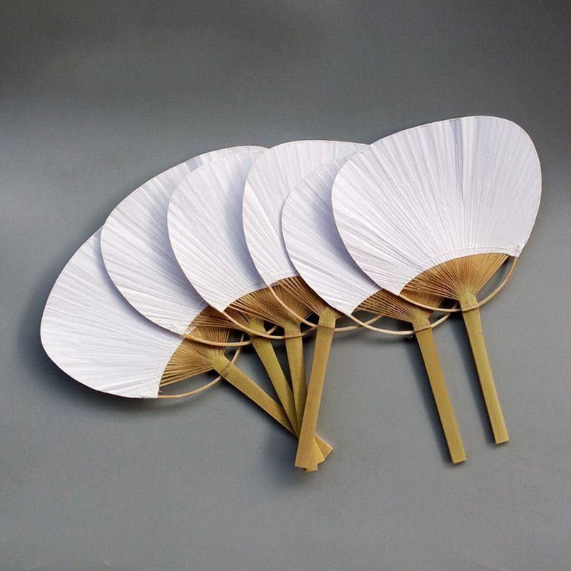 20pcs Pure White Summer Fan from Gallery Wallrus | Eclectic Wall Art & Decor with Worldwide Shipping