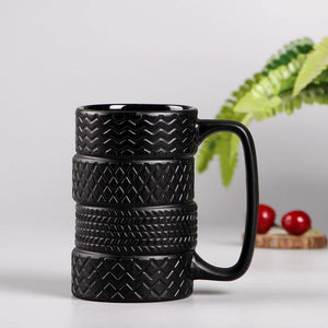 Tire Mug from Gallery Wallrus | Eclectic Wall Art & Decor with Worldwide Shipping