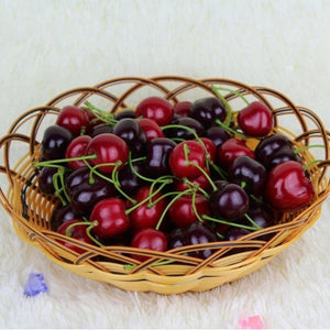30pcs Stimulation Cherries Fruit Display from Gallery Wallrus | Eclectic Wall Art & Decor with Worldwide Shipping