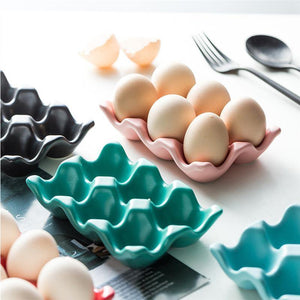 Ceramic Egg Box Holders from Gallery Wallrus | Eclectic Wall Art & Decor with Worldwide Shipping
