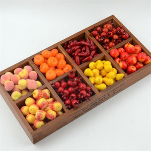 60pcs Artificial Mini Fruits and Vegetables Decoration from Gallery Wallrus | Eclectic Wall Art & Decor with Worldwide Shipping