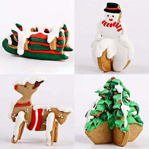 Christmas Cookie Cutters from Gallery Wallrus | Eclectic Wall Art & Decor with Worldwide Shipping