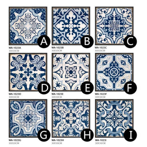Authentic Portuguese Tiles Gallery Wall Grid Square Art Prints from Gallery Wallrus | Eclectic Wall Art & Decor with Worldwide Shipping