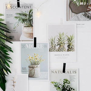 Flower Magazine Paper Card Decoration Collection from Gallery Wallrus | Eclectic Wall Art & Decor with Worldwide Shipping