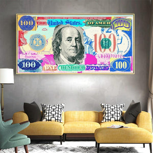100 Dollar Colorful Wall Art Prints Collection from Gallery Wallrus | Eclectic Wall Art & Decor with Worldwide Shipping