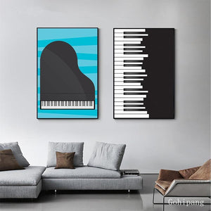 Piano Art Print Picture Set from Gallery Wallrus | Eclectic Wall Art & Decor with Worldwide Shipping