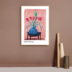 David Hockney Oil Paintings Artwork Collection from Gallery Wallrus | Eclectic Wall Art & Decor with Worldwide Shipping