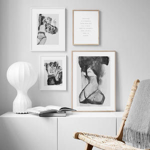 Black & White Sexy Wall Art Photography Pictures from Gallery Wallrus | Eclectic Wall Art & Decor with Worldwide Shipping