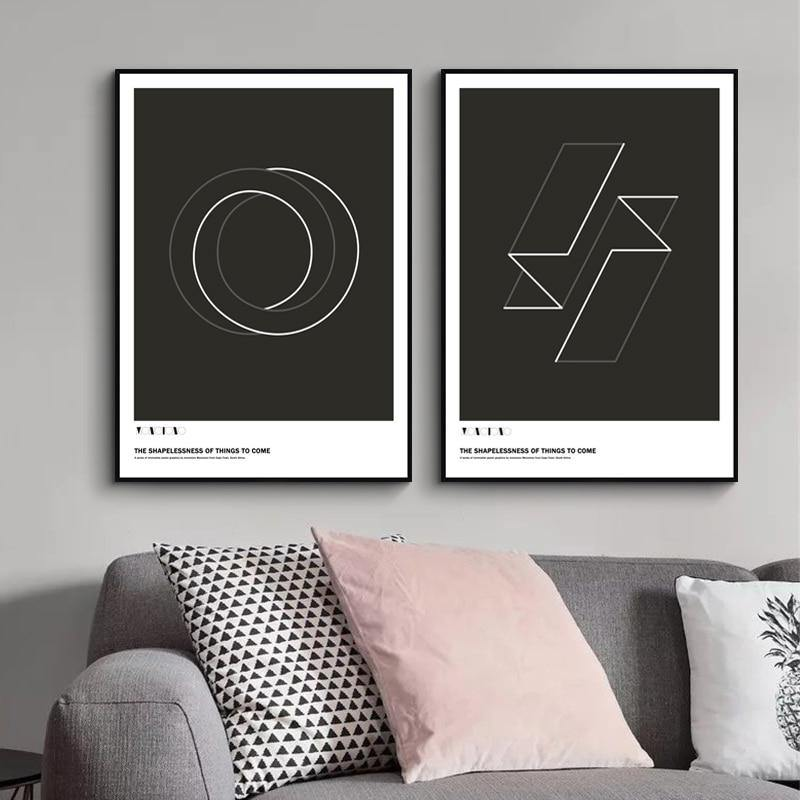 The Shaplessness of Things to Come Black & White Abstract Gallery Wall Art Prints from Gallery Wallrus | Eclectic Wall Art & Decor with Worldwide Shipping