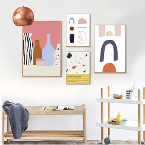 Cute Abstract Paintings Mix & Match from Gallery Wallrus | Eclectic Wall Art & Decor with Worldwide Shipping