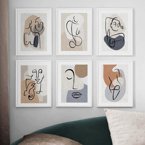 Cool Abstract Line Drawings Gallery Wall Artwork from Gallery Wallrus | Eclectic Wall Art & Decor with Worldwide Shipping