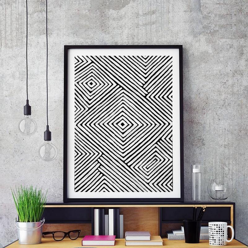 Abstract Hypnotizing Artwork Wall Picture from Gallery Wallrus | Eclectic Wall Art & Decor with Worldwide Shipping