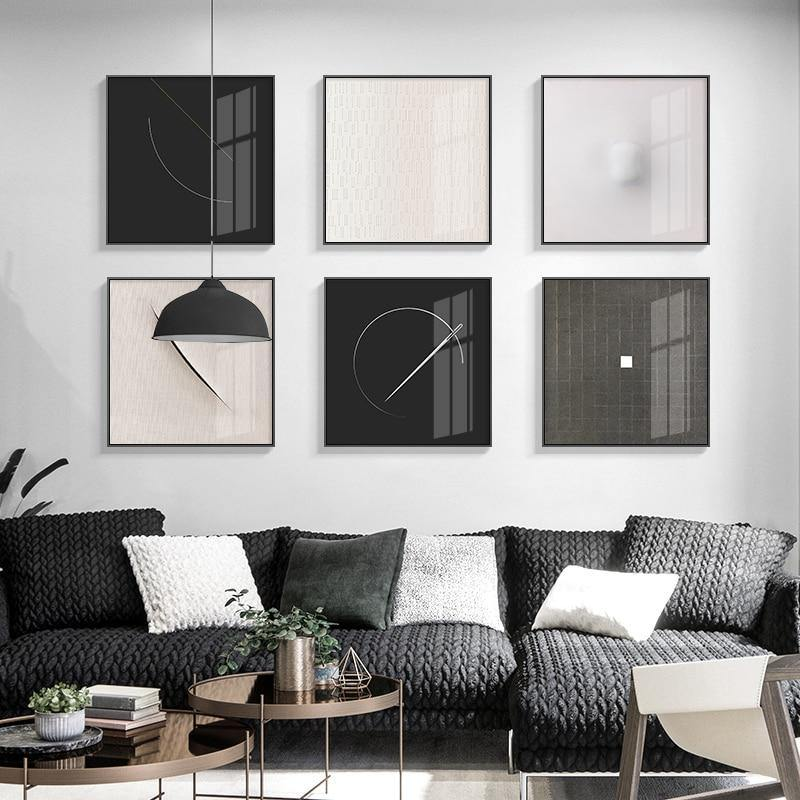 Abstract Minimalist Points Wall Art Gallery from Gallery Wallrus | Eclectic Wall Art & Decor with Worldwide Shipping