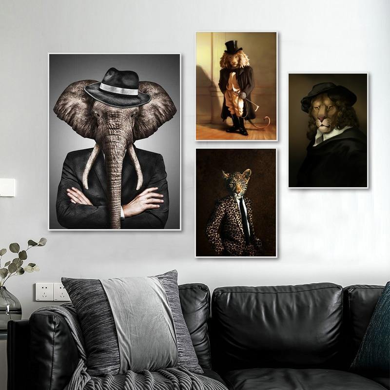 Modern Eclectic Animals Wall Gallery Pictures from Gallery Wallrus | Eclectic Wall Art & Decor with Worldwide Shipping