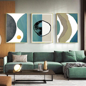 Abstract Art Print Gallery Wall Paintings from Gallery Wallrus | Eclectic Wall Art & Decor with Worldwide Shipping