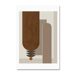 Brown Tones Color Palette Modern Abstract Gallery Wall Art Prints from Gallery Wallrus | Eclectic Wall Art & Decor with Worldwide Shipping