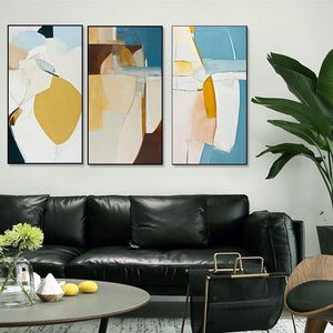 Tall Rectangle Abstract Gallery Wall Set of Art Pictures from Gallery Wallrus | Eclectic Wall Art & Decor with Worldwide Shipping