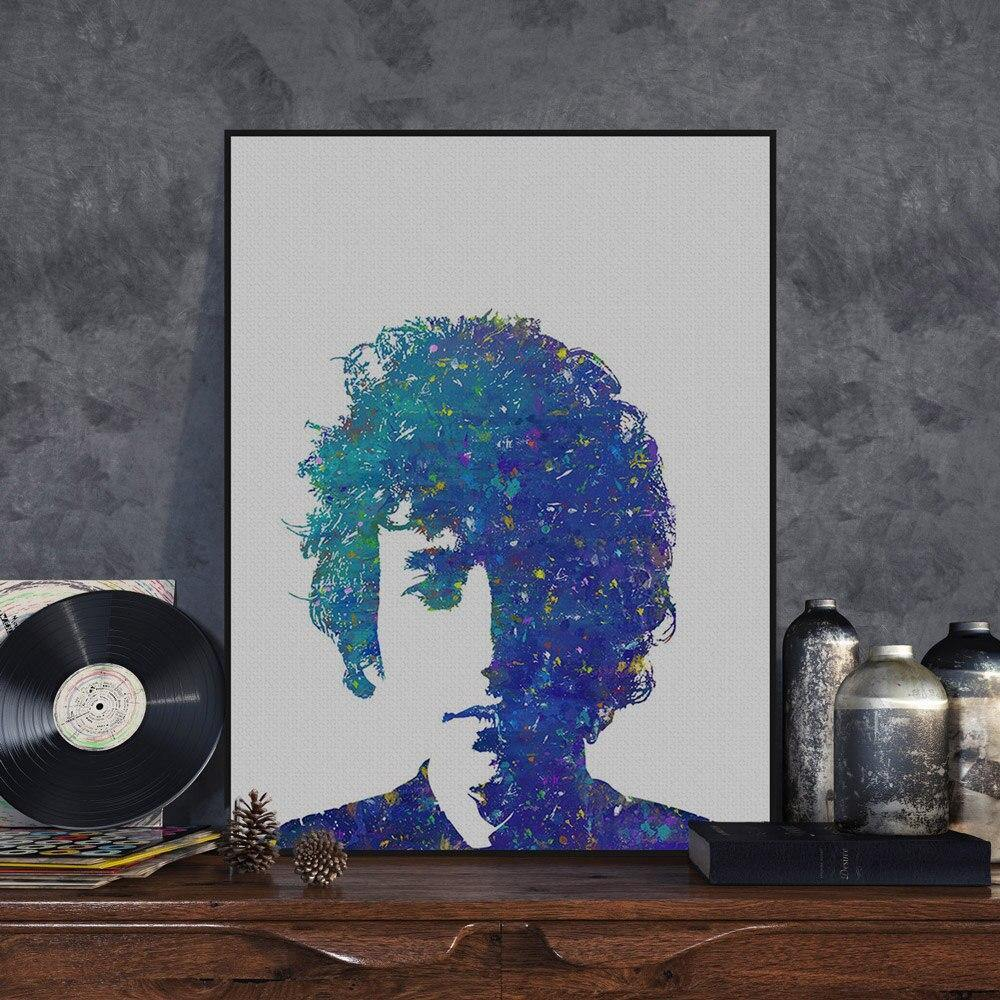 Bob Dylan Music Portrait Art Print from Gallery Wallrus | Eclectic Wall Art & Decor with Worldwide Shipping