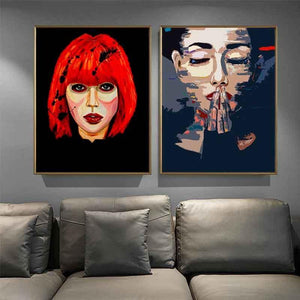 Abstract Women Art Pictures Collection from Gallery Wallrus | Eclectic Wall Art & Decor with Worldwide Shipping