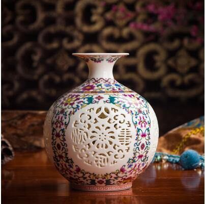 Ornate Chinese Vases from Gallery Wallrus | Eclectic Wall Art & Decor with Worldwide Shipping