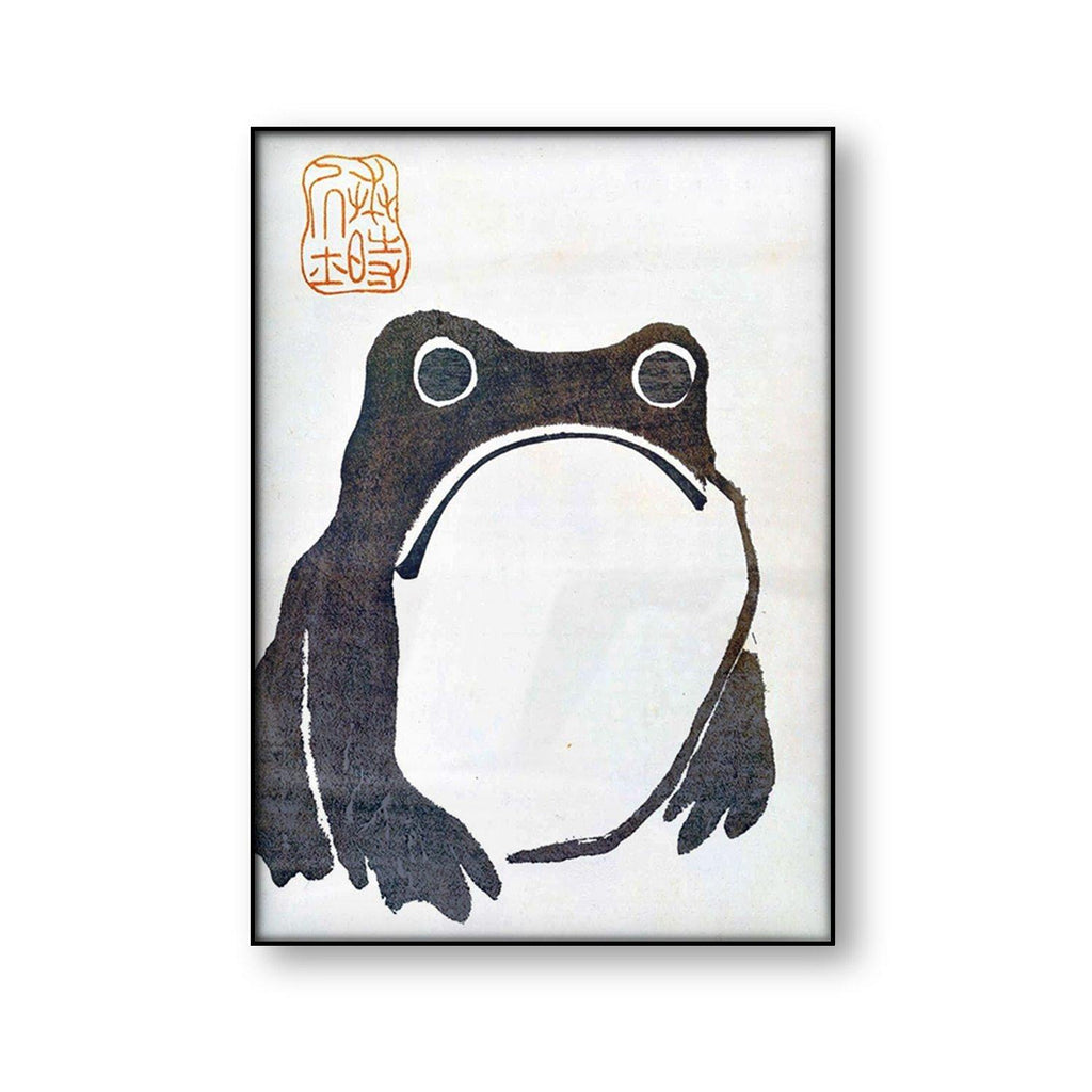 Japanese Matsumoto Hoji Frog Art Print from Gallery Wallrus | Eclectic Wall Art & Decor with Worldwide Shipping