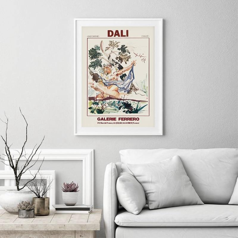 Salvador Dali Abstract Art Painting from Gallery Wallrus | Eclectic Wall Art & Decor with Worldwide Shipping
