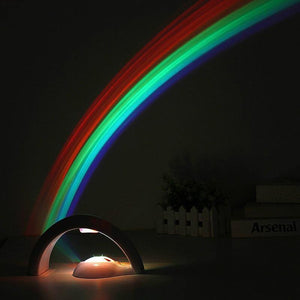 Rainbow Atmosphere Night Light from Gallery Wallrus | Eclectic Wall Art & Decor with Worldwide Shipping