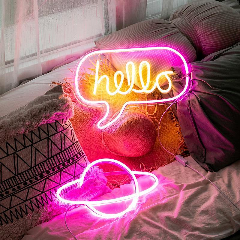 Funky Neon Lights from Gallery Wallrus | Eclectic Wall Art & Decor with Worldwide Shipping