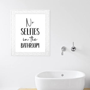 Funny Bathroom Typography Quotes Gallery Wall Art Prints 2 from Gallery Wallrus | Eclectic Wall Art & Decor with Worldwide Shipping
