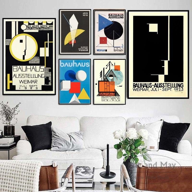 1923 Weimer Exhibition of Bauhaus Ausstellung Art Prints from Gallery Wallrus | Eclectic Wall Art & Decor with Worldwide Shipping