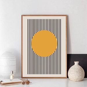 Bauhaus Exhibition Geometric Art Poster from Gallery Wallrus | Eclectic Wall Art & Decor with Worldwide Shipping