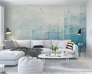 Beibehang Custom wallpaper murals modern minimalist abstract urban architecture watercolor retro wall wallpaper for walls 3 d from Gallery Wallrus | Eclectic Wall Art & Decor with Worldwide Shipping