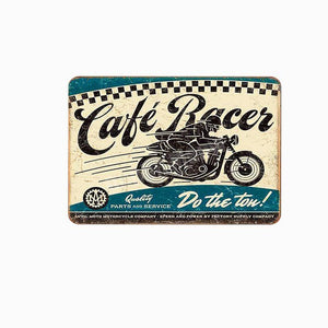 Classic Motorbike Metal Wall Signs from Gallery Wallrus | Eclectic Wall Art & Decor with Worldwide Shipping