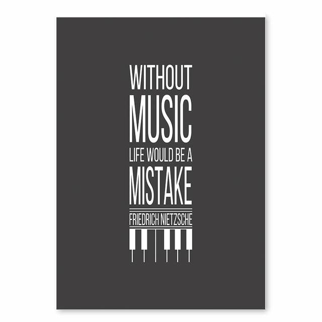 Black & White Music Art Print Collection from Gallery Wallrus | Eclectic Wall Art & Decor with Worldwide Shipping