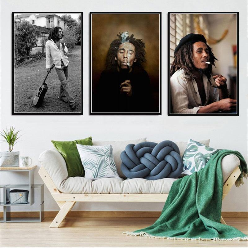The Legendary Bob Marley Wall Art Gallery from Gallery Wallrus | Eclectic Wall Art & Decor with Worldwide Shipping