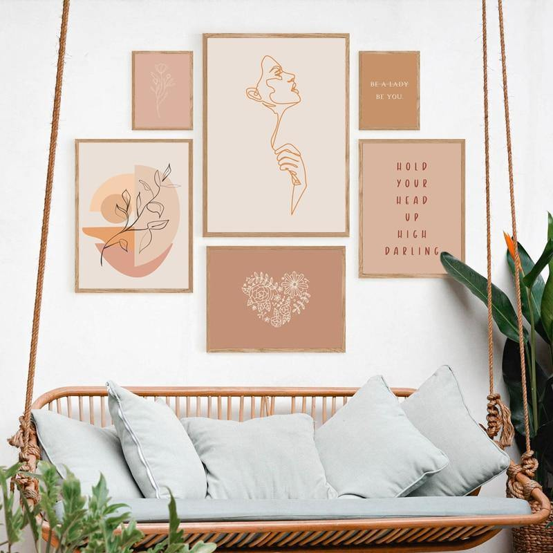 Minimalist Women Empowerment Mix & Match Art Prints from Gallery Wallrus | Eclectic Wall Art & Decor with Worldwide Shipping